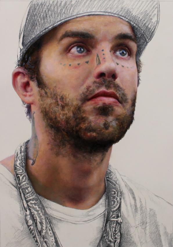 Contemporary Painter Cesar Santos