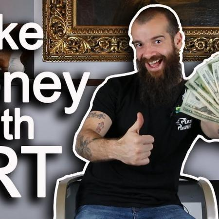 How I Made Money With Art. Cesar Santos vlog 080