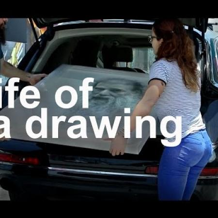 Life of a Drawing. Cesar Santos vlog 008