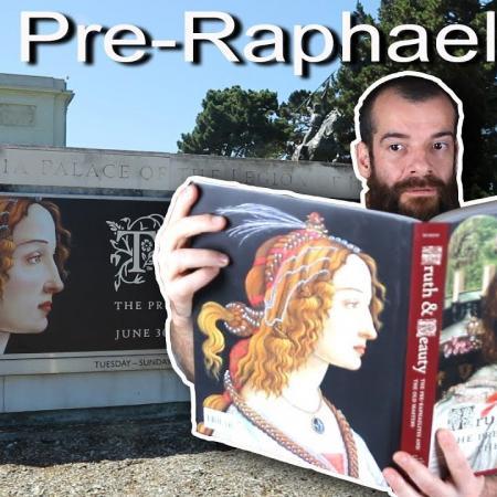 The First Avant-Garde, The Pre-Raphaelites. Cesar Santos vlog 070