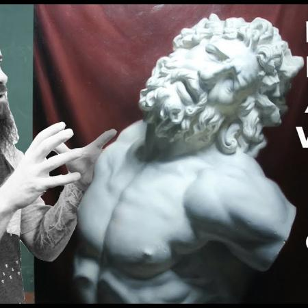 Drawing and Painting at the Angel Academy of Art. Cesar Santos vlog 056