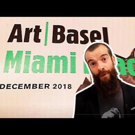 Art Basel Miami and The Paris Salon. Cesar Santos vlog 071