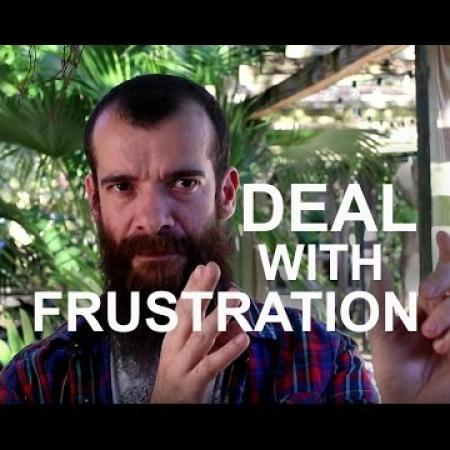 How to deal with Frustration as an Artist. Cesar Santos vlog 009