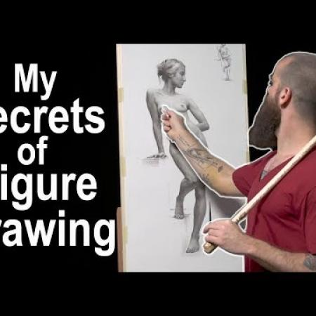 My Secrets of Figure Drawing. Cesar Santos vlog 040