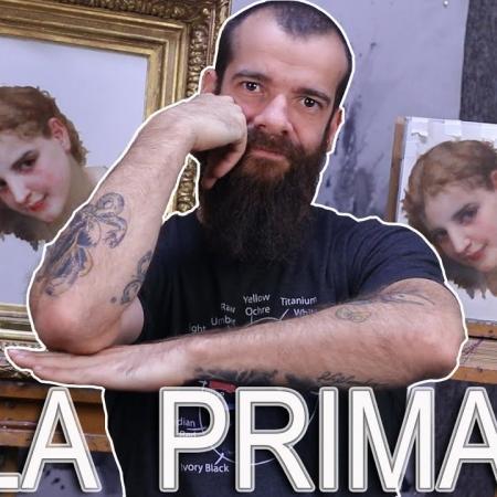 Alla Prima Painting Exercise. Cesar Santos vlog 059