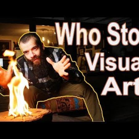 Visual Art Crisis. Cesar Santos vlog 028