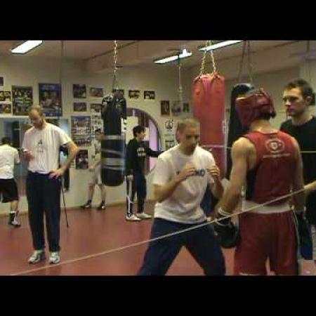 cesar santos boxing 60Kg