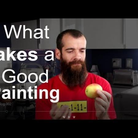 What makes a good painting? Cesar Santos vlog 002