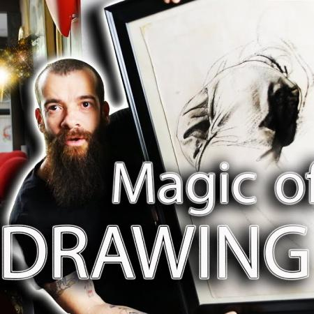 Mastering Drawing is the Magic of Art. Cesar Santos vlog 054