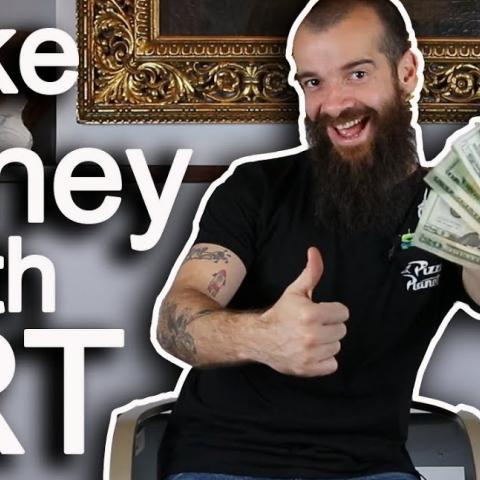 How I Made Money With Art. Cesar Santos vlog 080
