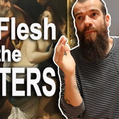 How the Masters Treated the Flesh Color. Cesar Santos vlog 047