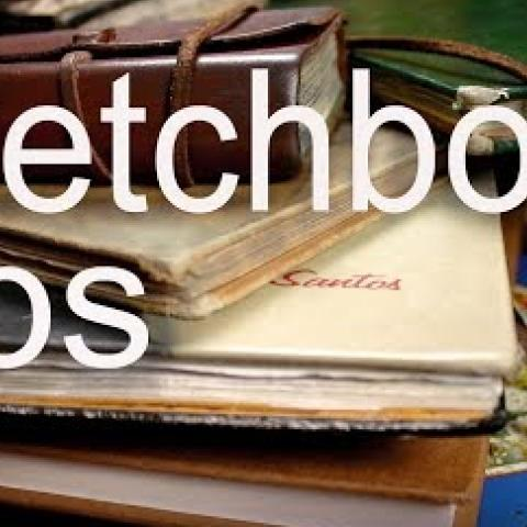 Sketchbook Tips. Cesar Santos vlog 017