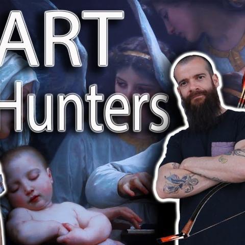 Art Talk, Museum and Studio Visit. Cesar Santos vlog 053