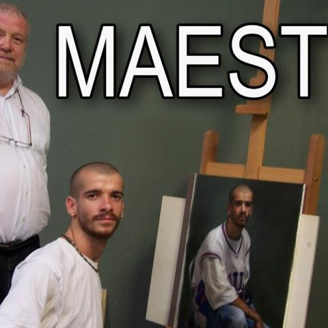 Exclusive Interview with Master Painter Michael John Angel. Cesar Santos vlog 058