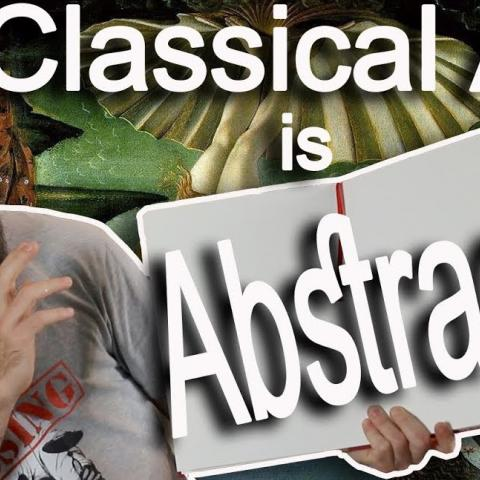 Painting Exercise, Making Classical Art Abstract. Cesar Santos vlog 076